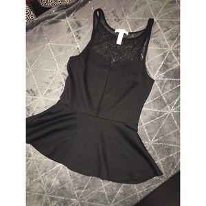 Beautiful black top
